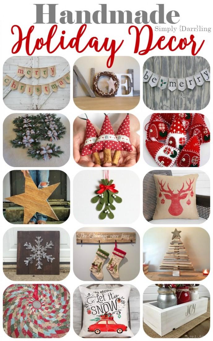Handmade Holiday Decor
