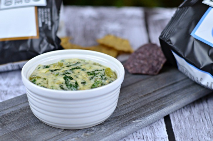 Dairy Free Spinach Chip Dip with Food Should Taste Good Chips