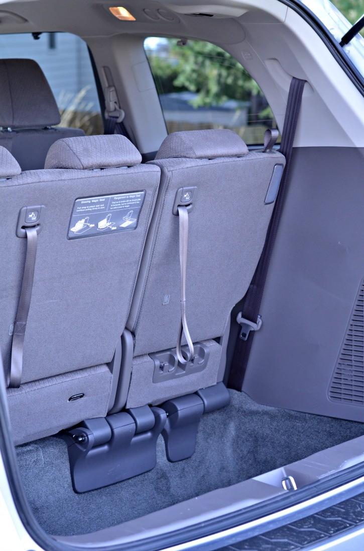 2016 Honda Odyssey Rear Storage