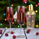 Raspberry Chambord & Champagne Cocktail