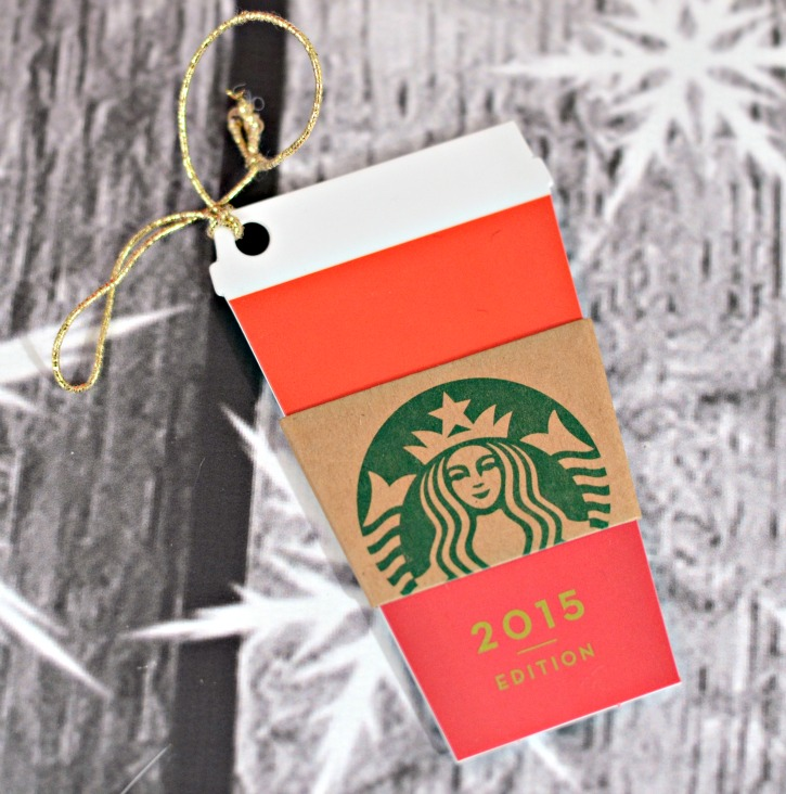 2015 Starbucks Red Cup Gift Card