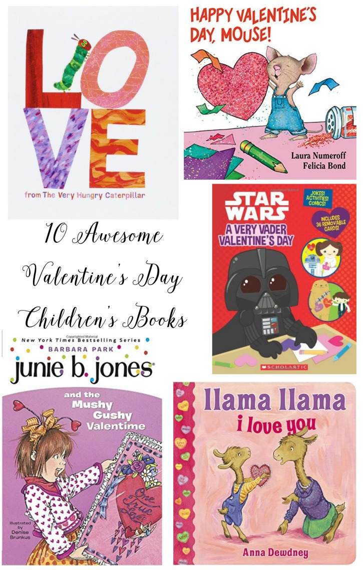 10 awesome valentine's day children's bookd