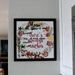 Menu Board – There's Always Nachos