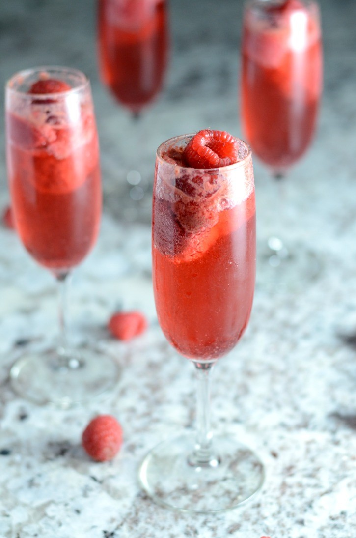 Amazing Raspberry Bellini - Simply {Darr}ling