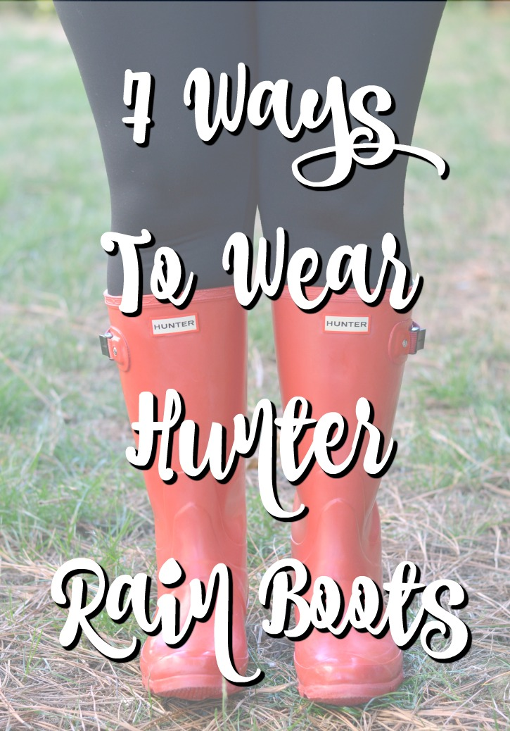 d97e8433d02 7 Ways To Wear Hunter Rain Boots - Simply  Darr ling
