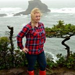 How to Wear Red Hunter Rain Boots
