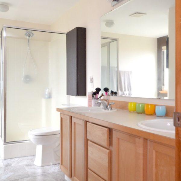 Easy Update to Bathroom Floors