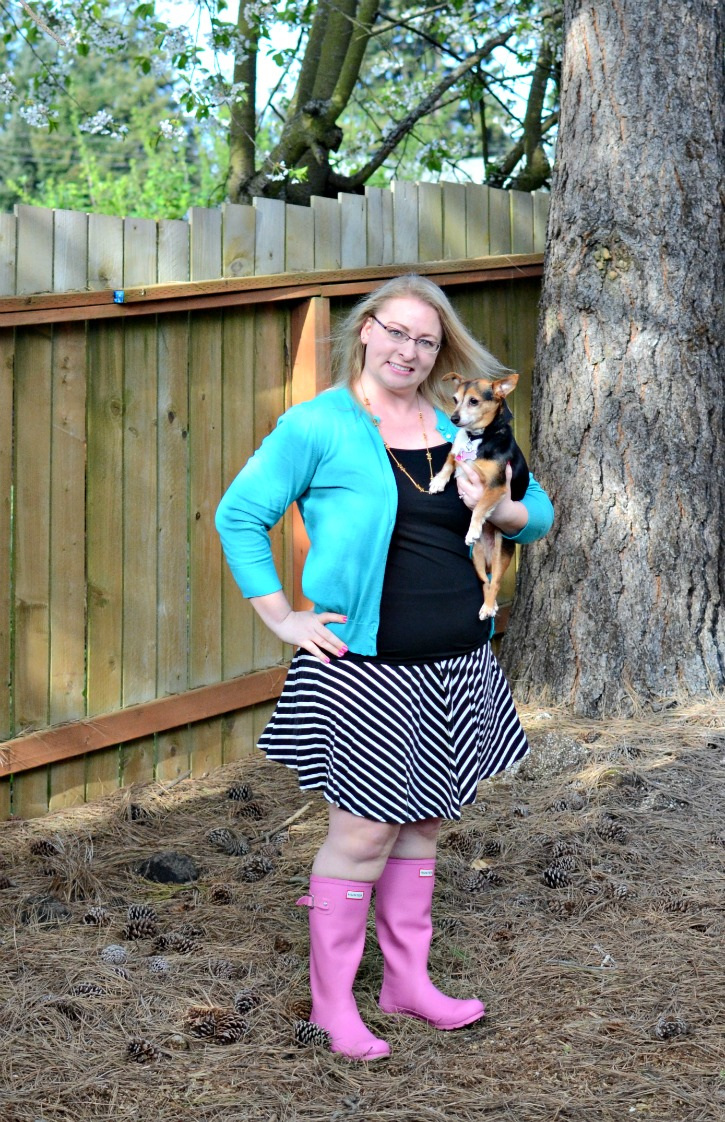 How To Wear Pink Hunter Rain Boots Simply Darr Ling