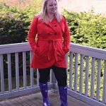 How To Wear Purple Hunter Rain Boots