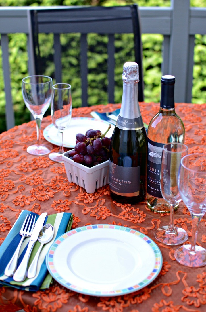 Spring Date ideas with Sterling Vineyard Wines