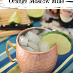 Orange Moscow Mule in Copper Mug
