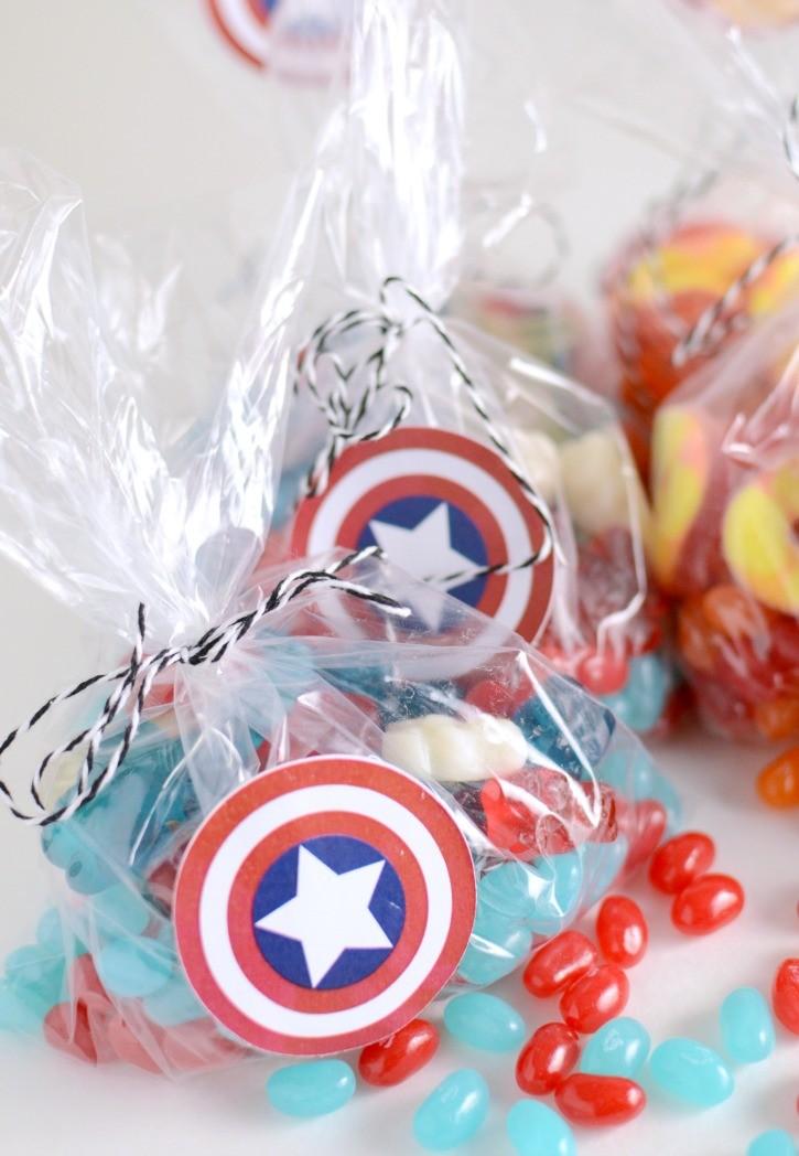 Captain America: Civil War - Movie Candy Treat Bags