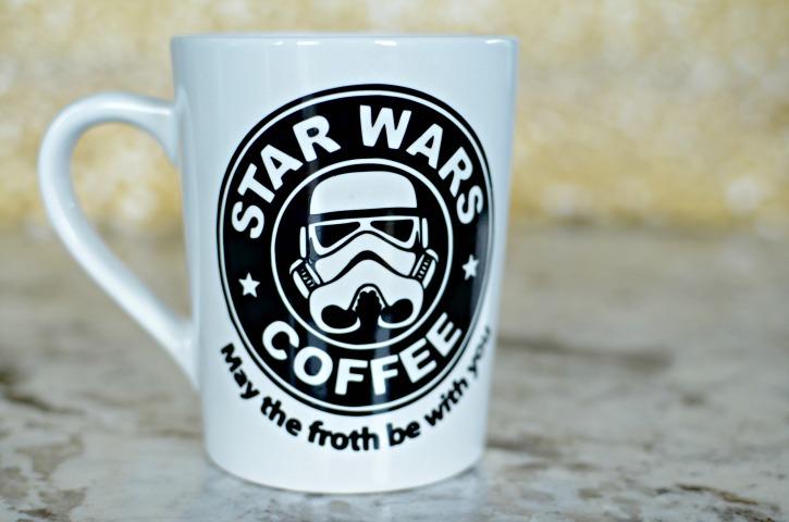 Star Wars Coffee Mug Simply Darr Ling