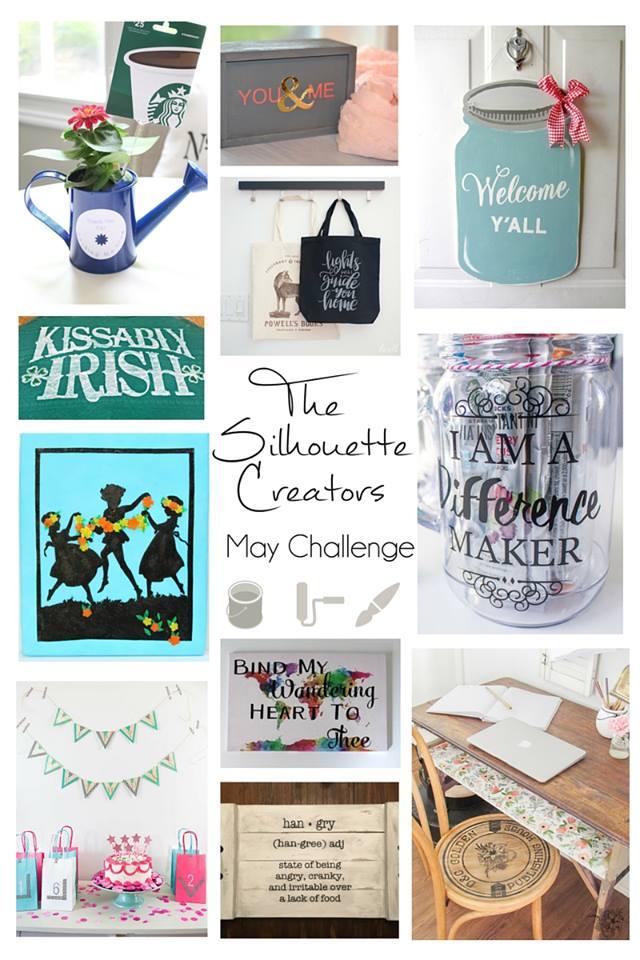 silhouette blogger challenge