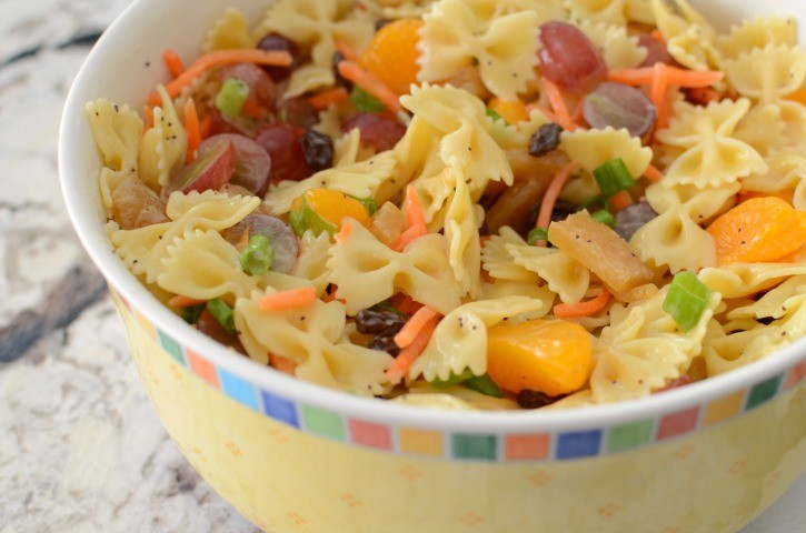 Tropical Pasta Salad for Summer BBQs
