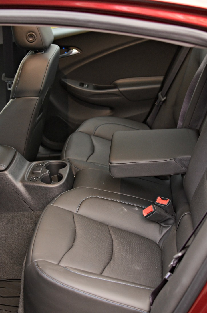 2017 Chevrolet Volt The Rear Seats Fold Down
