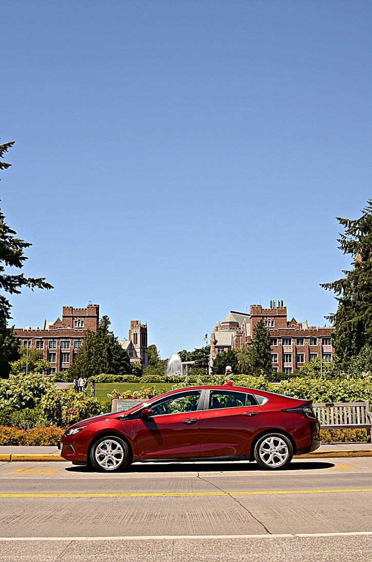 2017 Chevrolet Volt at University of Washington