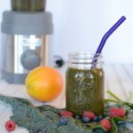 Delicious Summer Berry Green Smoothie