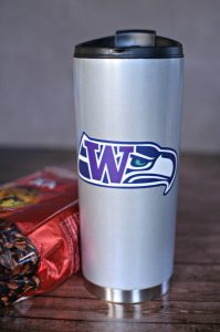 Seattle Sports Teams Coffee Vacuum Tumbler