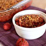 Easy Strawberry Rhubarb Crisp Recipe