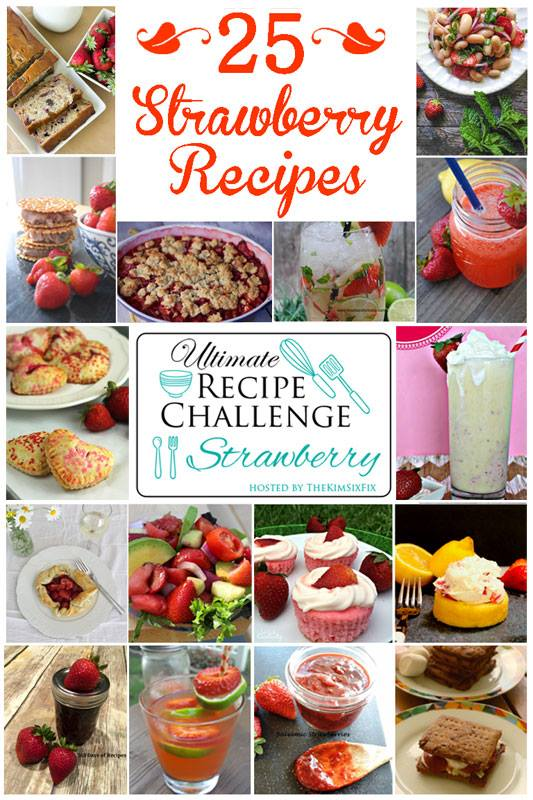 Ultimate Recipe Challenge - Strawberries