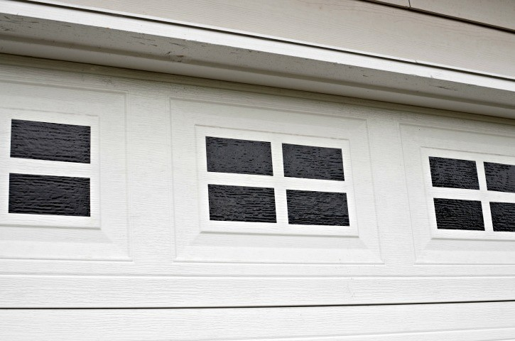 garage door windowsEasy DIY Faux Garage Door Windows  Simply Darrling