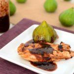 Grilled Chicken With Fresh Fig Glaze
