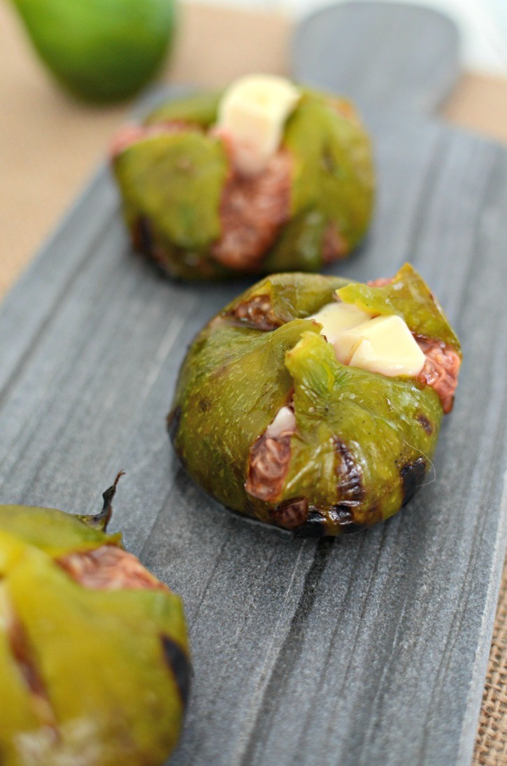 Brie Stuffed Grilled Figs