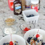 Easy & Delicious Ice Cream Sundae Bar
