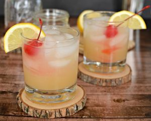 A Classic Whiskey Sour Cocktail