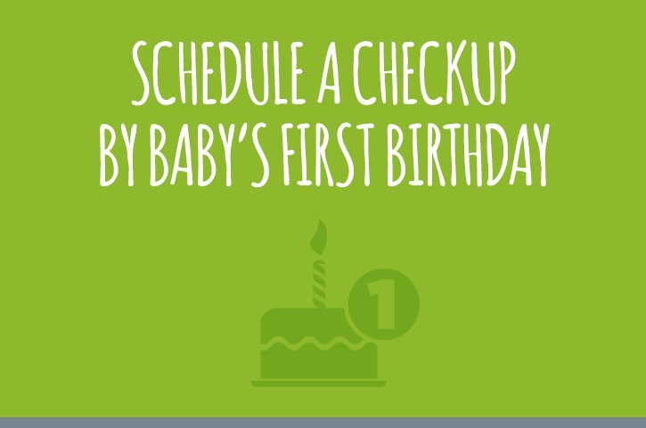 1st birthday dental checkup