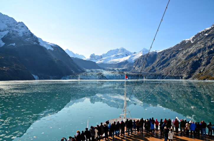 Alaska Inside Passage Cruise - Glacier Bay