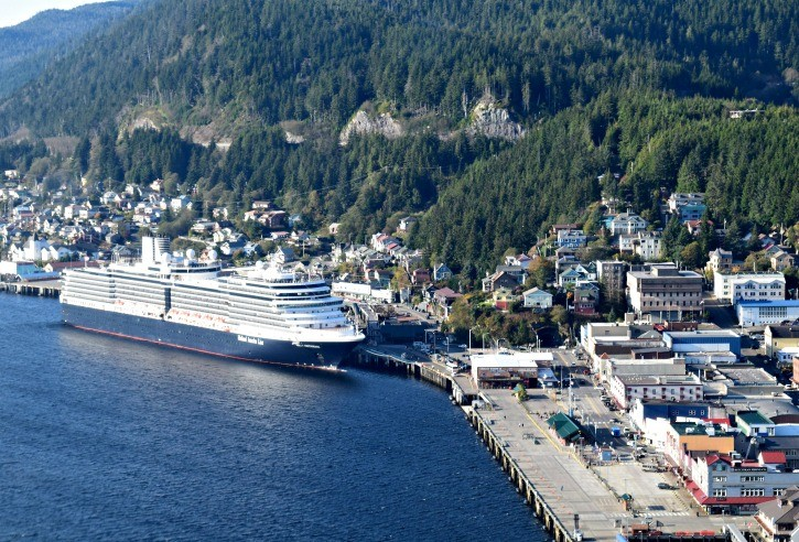 Alaska Inside Passage Cruise - Ketchikan Nieuw Amsterdam Holland America