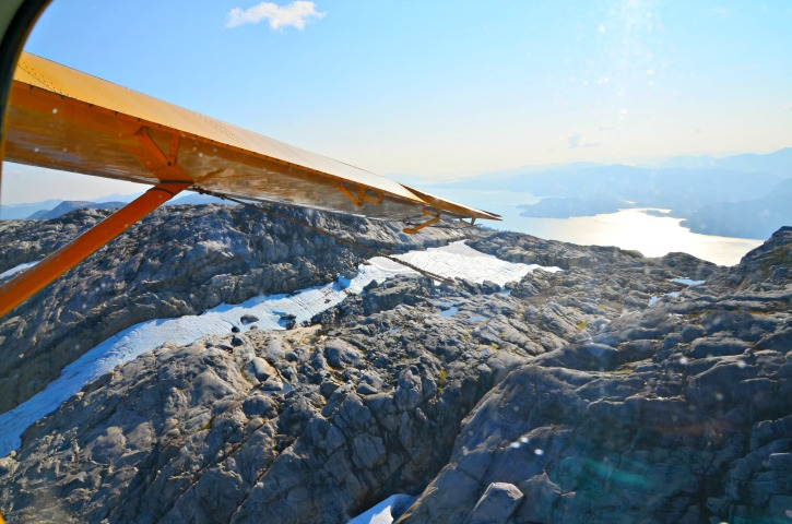 Alaska Inside Passage Cruise - Ketchikan Misty Fjords Flightseeing