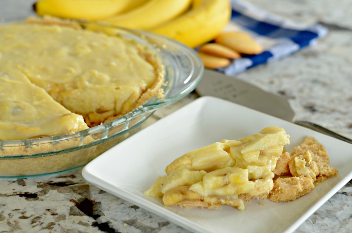 Banana Pudding Pie Recipe from Scratch