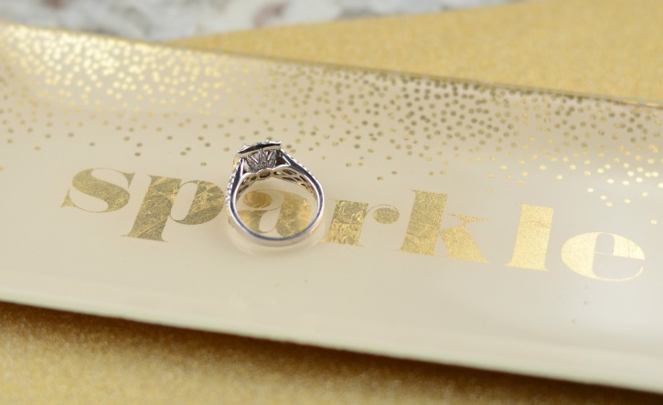 Halo Wedding RIng from Shane Co