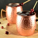 Cranberry Apple Moscow Mule Cocktail Drink Recipe