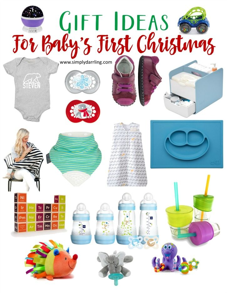 super holiday gift guide babys first christmas