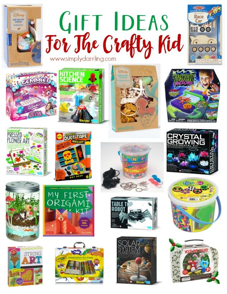 Super Holiday Gift Guide - For Crafty Kids