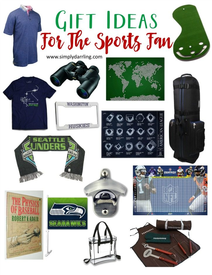Super Holiday Gift Guide For The Sports Fan