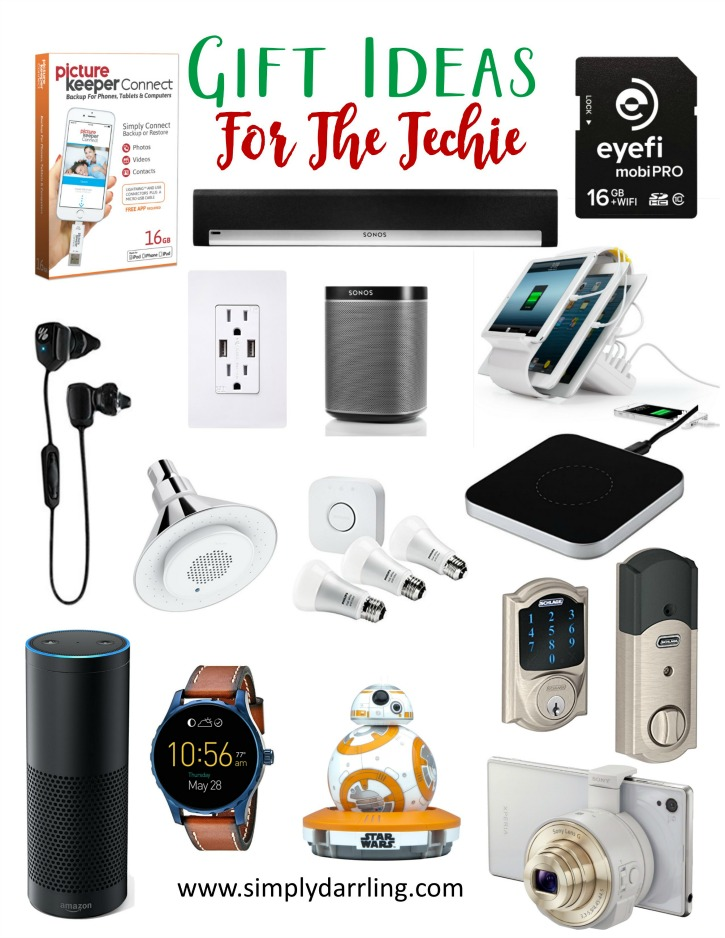 Super Holiday Gift Guide - Gifts For The Techie - Simply ...