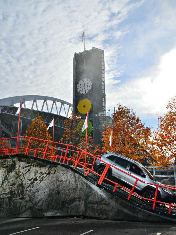 Jeep TrailHawks Ride Event at Century Link Field