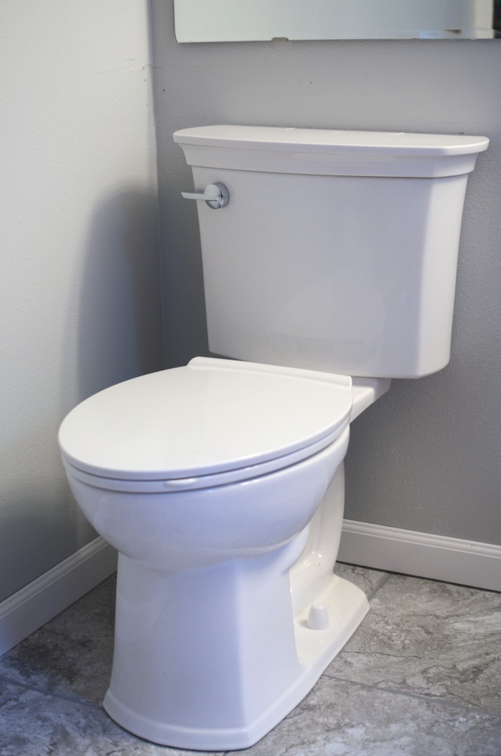 Bathroom Update American Standard ActiClean
