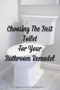 Choosing The Best Toilet For Your Bathroom Remodel