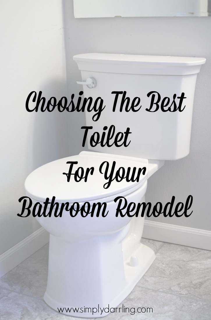 Choosing The Best Toilet For Your Bathroom Remodel