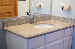 Easy Guest Bathroom Update New Vanity
