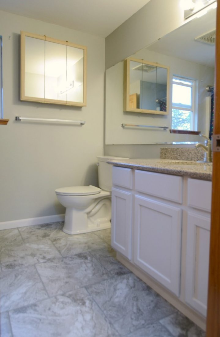 Easy Guest Bathroom Update Simply Darr Ling