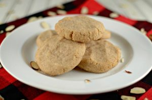 Almond Snickerdoodle Cookie Recipe