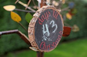 Days 'Til Christmas – Chalkboard Christmas Countdown Ornament