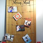 DIY Upcycled Christmas Card Display – Merry Mail